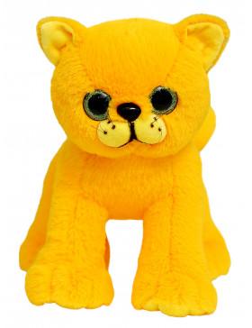 """Мягкая игрушка Filius Кошечка """"Адель"""" жёлтый, 30 см"""