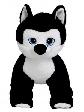 """Мягкая игрушка Filius Хаски """"Блэк"""", черный 30см"""