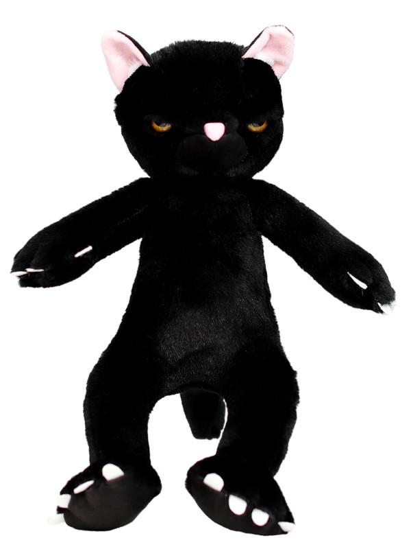 """Мягкая игрушка Filius  """"Кот Бонд"""" чёрный, 30см"""