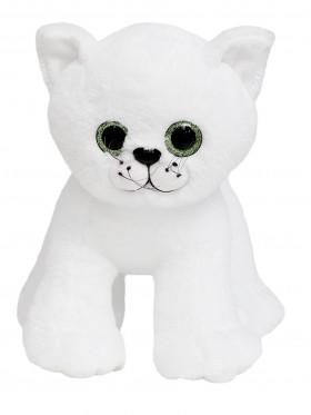 """Мягкая игрушка Filius Кошка """"Гуччи"""", белая 30см"""
