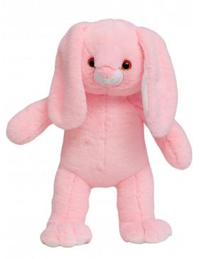 """Мягкая игрушка Filius Зайка """"Зефир"""" розовый, 45см"""