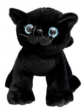 Мягкая игрушка Filius Кошечка Ласка чёрная, 30см
