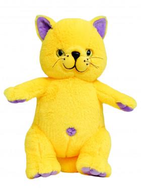 """Мягкая игрушка Filius Кот """"Филимон"""", жёлтый 30см"""