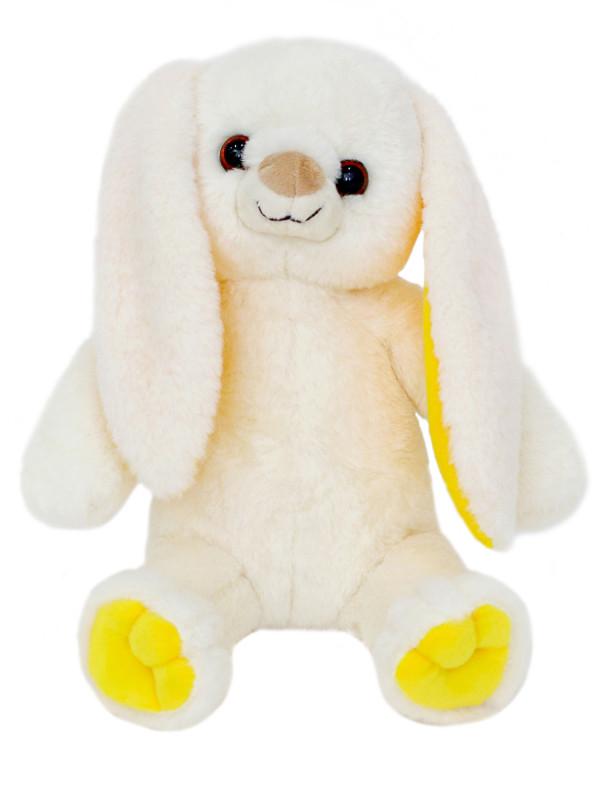 Мягкая игрушка Filius Зайка Ева молочный,25см