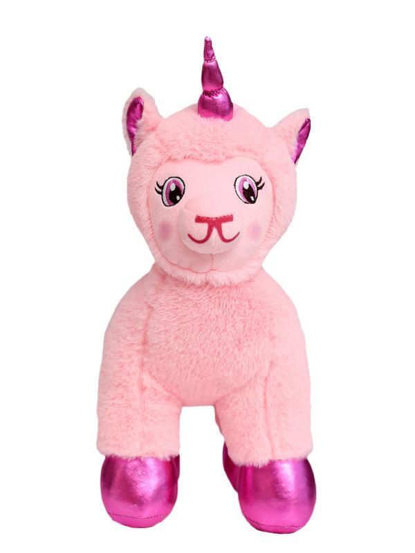 """Мягкая игрушка Filius единорог """"Феби"""", розовый 30см"""