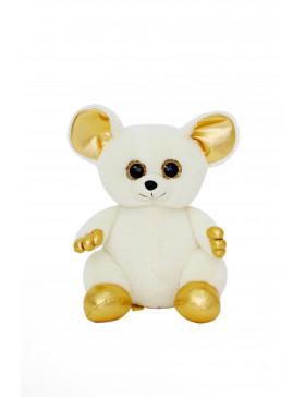 """Мягкая игрушка  Filius Мышка """"Лемур Тори"""" молочный, 30см"""
