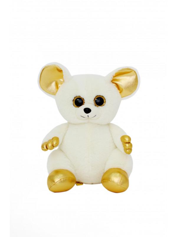 Мягкая игрушка Filius  мышка Лемур Тори молочный,30см