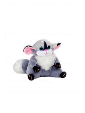 """Мягкая игрушка Filius Монстрик """"Гизмо"""", серый 25см"""