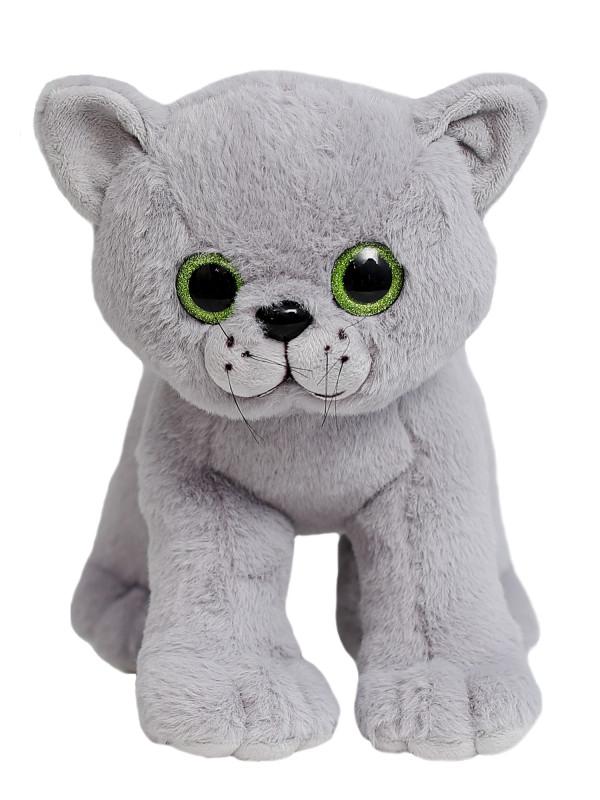 """Мягкая игрушка Filius Кошка """"Дейзи"""", серая 30см"""