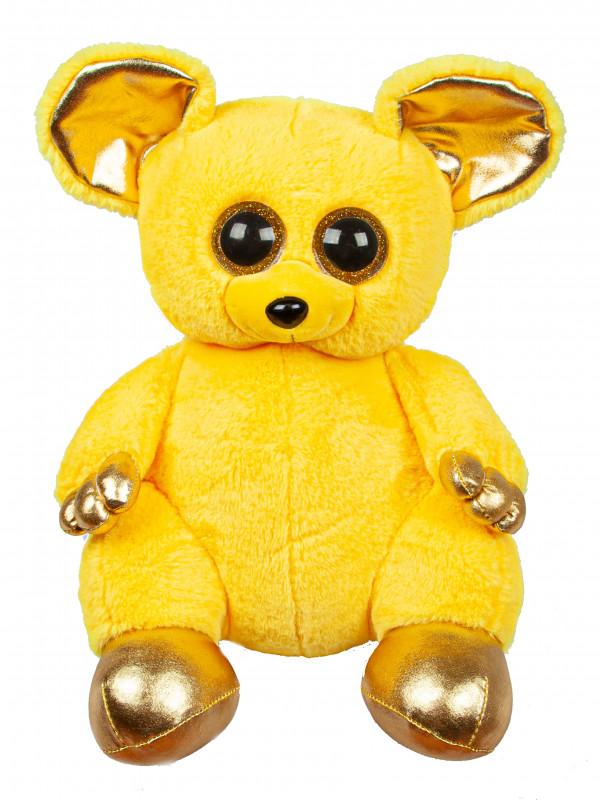 """Мягкая игрушка  Filius Мышка """"Лемур Кейт"""" желтый, 30см"""