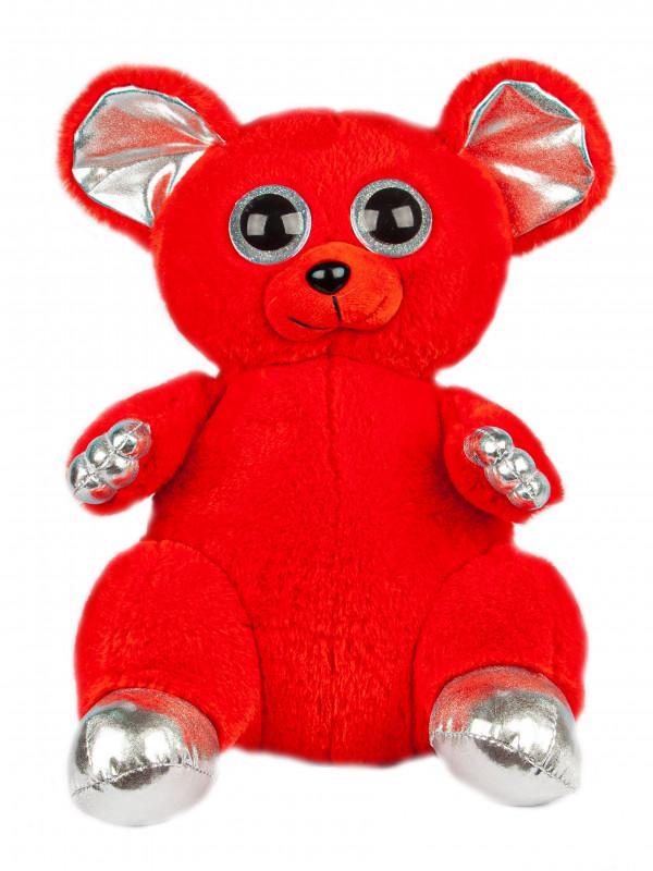 """Мягкая игрушка  Filius Мышка """"Лемур Лари"""" красный, 30см"""