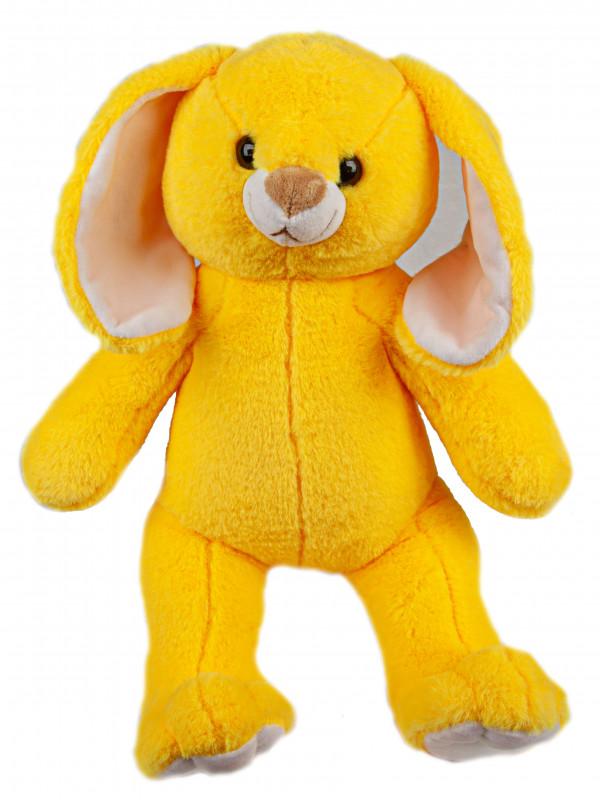 """Мягкая игрушка Filius Зайка """"Солнышко"""", желтый 45см"""