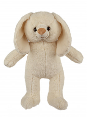 """Мягкая игрушка Filius Зайка """"Пломбир"""", белый 45см"""