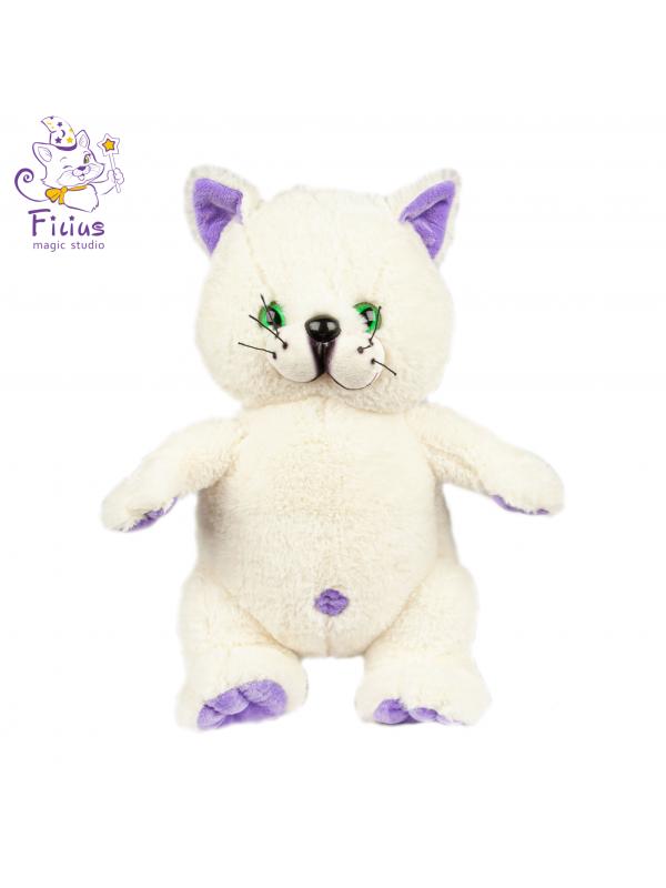Мягкая игрушка Filius  Кот Филимон молочный,30см