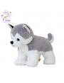 Мягкая игрушка Filius Хаски Амур серый,35см