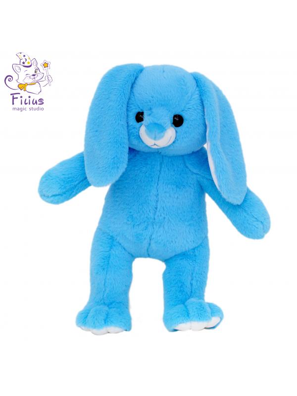 Мягкая игрушка Filius  Зайка Облачко голубой,45см
