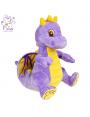 Мягкая игрушка Filius Дракончик Кай фиолетовый,35см