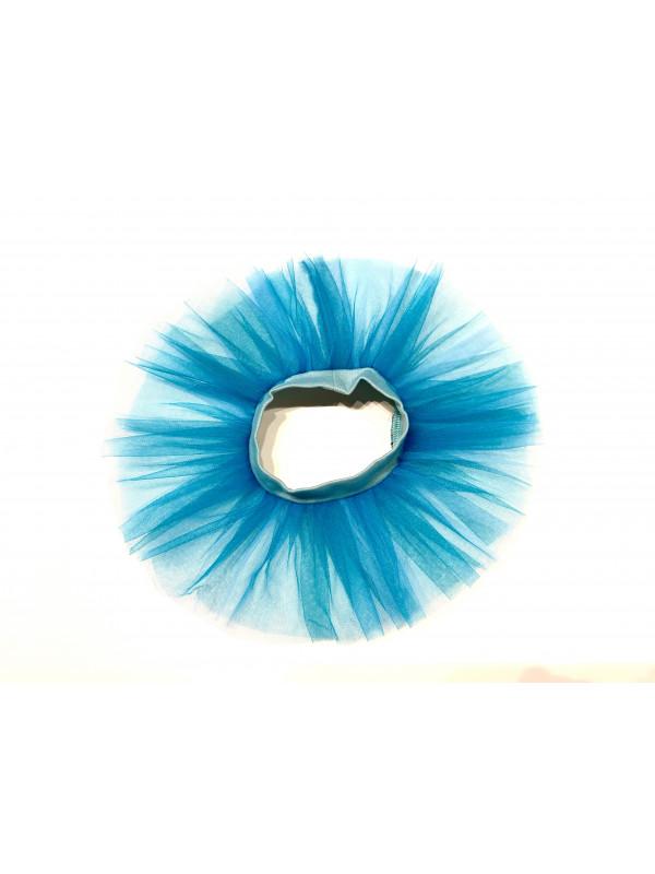 Одежда для мягких игрушек Filius Юбка фатин, голубая
