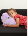 """Плед Filius """"Волшебный кот"""", фиолетовый"""