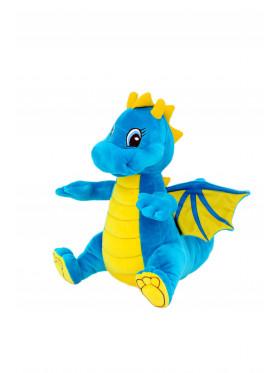 """Мягкая игрушка Filius дракончик """"Сапфир"""", бирюзовый 35см"""