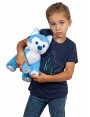 """Мягкая игрушка Filius Хаски """"Альма"""", голубая 30см"""