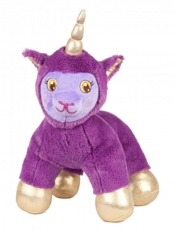 """Мягкая игрушка Filius единорог """"Зари"""", фиолетовый 30см"""