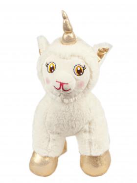 """Мягкая игрушка Filius единорог """"Абада"""", молочный 30см"""