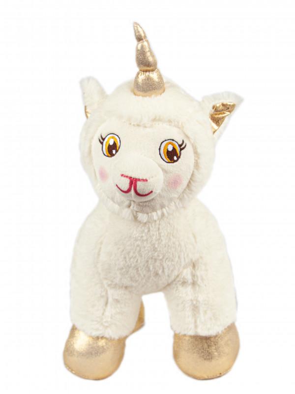 Мягкая игрушка Filius Единорог Абада молочный,30см
