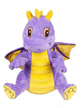 """Мягкая игрушка Filius дракончик """"Кай"""", фиолетовый 35см"""