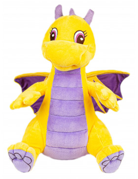 """Мягкая игрушка Filius дракончик """"Рамота"""", жёлтый 35см"""