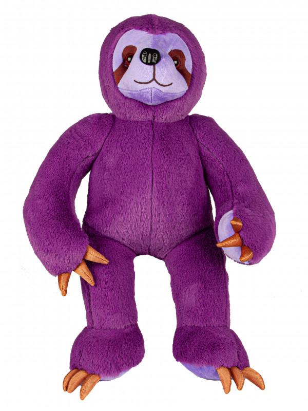 """Мягкая игрушка Filius Ленивец """"Джуди"""", фиолетовый 40см"""
