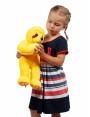 """Мягкая игрушка Filius Ленивец """"Блиц"""", жёлтый 40см"""