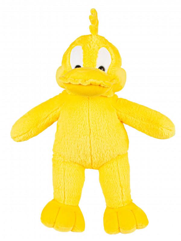 """Мягкая игрушка Filius Утка """"Колосок"""", жёлтая 45см"""