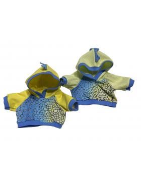 """Одежда для мягких игрушек Filius Худи """"Дракоша"""""""