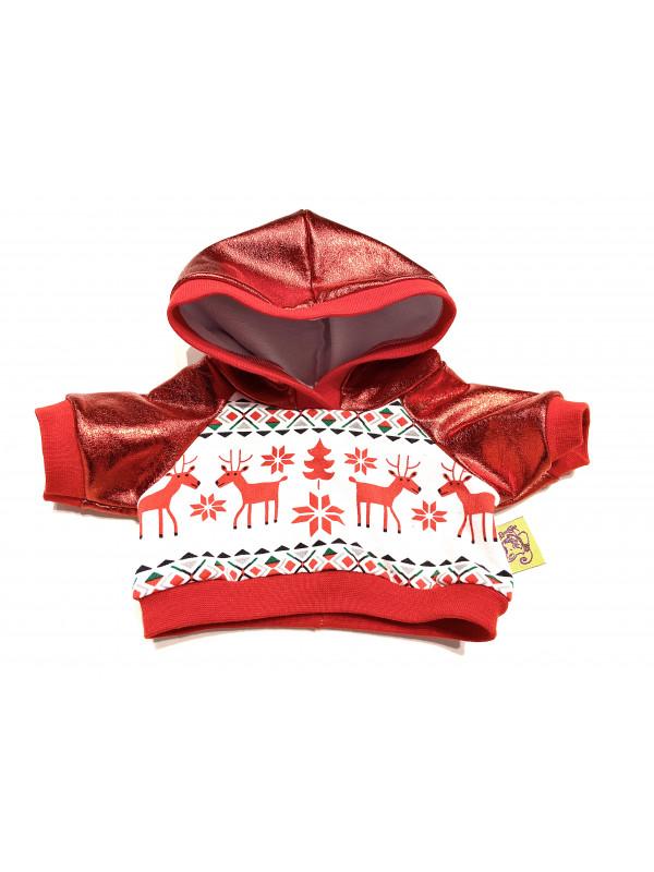 """Одежда для мягких игрушек Filius Худи """"Олени"""""""
