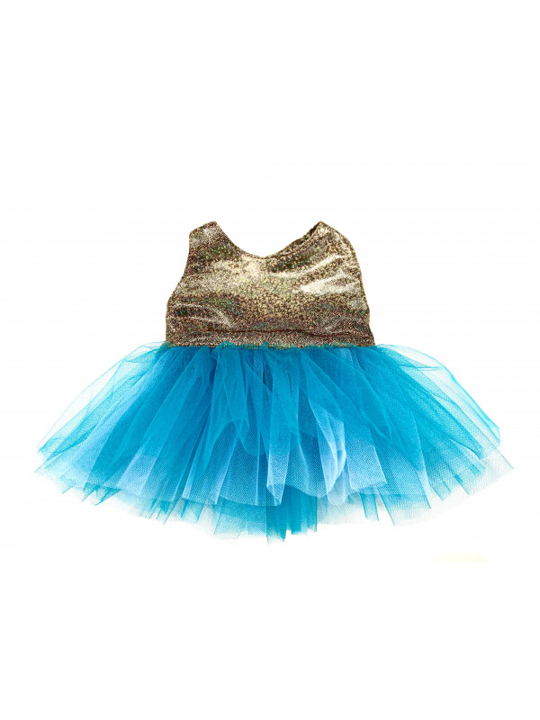 """Одежда для мягких игрушек Filius Платье """"Морская волна"""""""