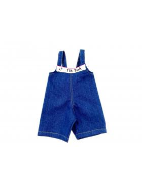 Одежда для мягких игрушек Filius Комбинезон Джинсовый, синий